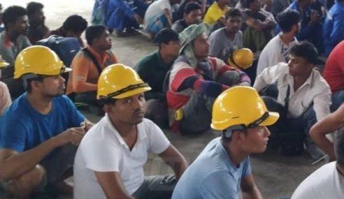 Op Mega: 73 PATI Kerja Kilang Ditahan Di Kulim