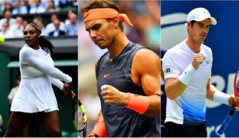 Serena, Nadal, Murray 'Hangat' Terbuka Australia