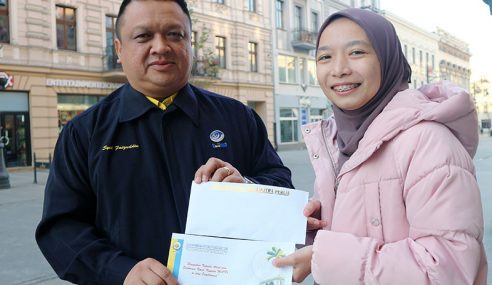 Nur Syamimi Tabah Hadapi Cabaran Di Poland