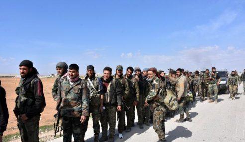 Syria Tuduh Pasukan Pakatan Serang Kedudukan Tentera