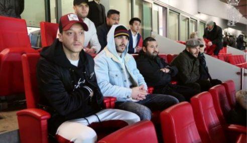 TMJ Bersama Beckham, Ozil Saksikan Perlawanan Arsenal-Tottenham Hotspur