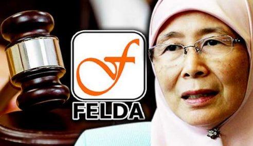 Wan Azizah, 2 Yang Lain Diperintah Bayar Felda RM70K