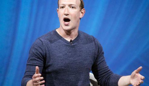 Zuckerberg Pertahan FB Isu Penjualan Data Peribadi