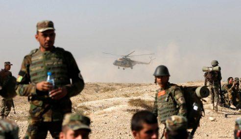 Serangan Udara Bunuh 55 Militan Di Afghanistan Dalam Tempoh 24 Jam