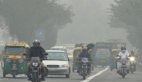 1.24 Juta Penduduk India Maut Udara Kotor Pada 2017