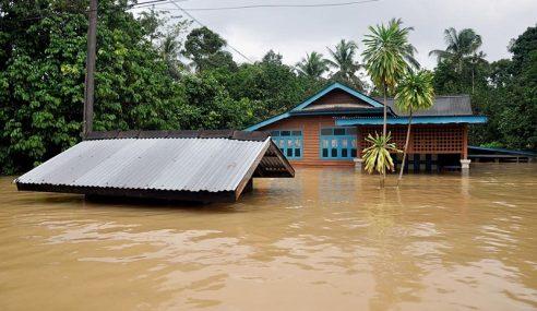 Pusat Penempatan Banjir Dibuka Di Dungun