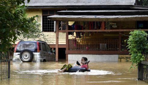 Keadaan Banjir Di Terengganu Tidak Berubah