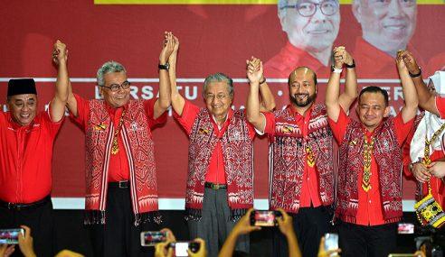 Mahathir Lancar PPBM Sarawak Di Bintulu