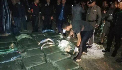 """Penyeludup Mati, 15 Juta Pil """"Meth"""" Disita Di Chiang Rai"""