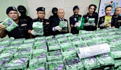Polis Perak Tumpas Makmal Dadah, Rampasan RM35j