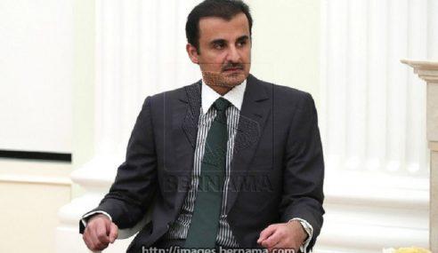 Emir Qatar Lakukan Lawatan Kerja Ke Malaysia