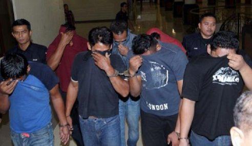 7 Lelaki Ditahan Kes Pergaduhan Di R&R Gambang