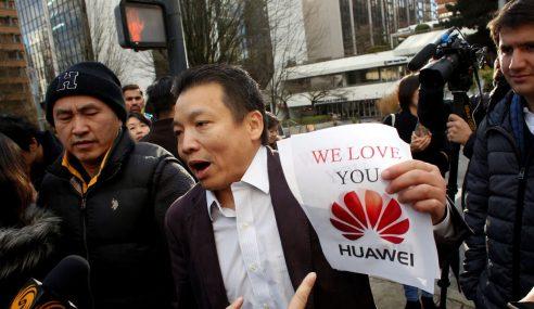 Syarikat China Bersatu Sokong Huawei