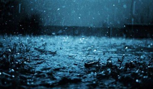 Hujan Lebat 3 Hari Di Kelantan, Terengganu & Pahang Mulai Esok
