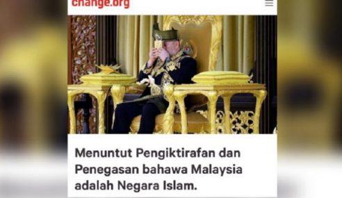 Lebih 30,000 Tuntut Iktiraf Malaysia Negara Islam