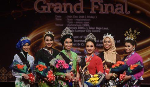 Aini Sophi, Nur Hazwani Menang Miss Dan Mrs Malaysia Kebaya 2018