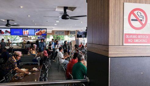 Larangan Merokok Premis Makanan Di Sabah Bermula
