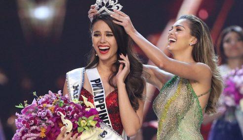 Ratu Filipina Dinobat Miss Universe 2018