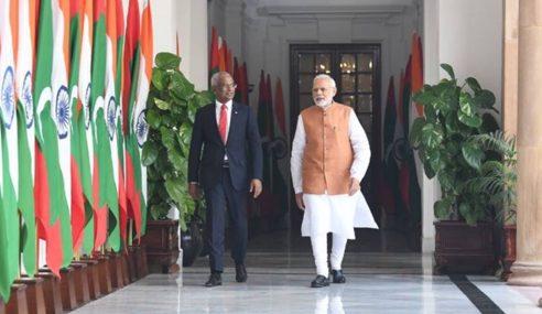 Selepas Tewaskan Sekutu China, India Umum Bantu Maldives AS$1.4b