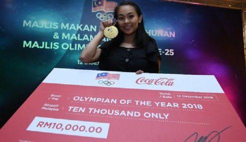 Olimpian 2018 Milik Azizulhasni, Amy Kwan