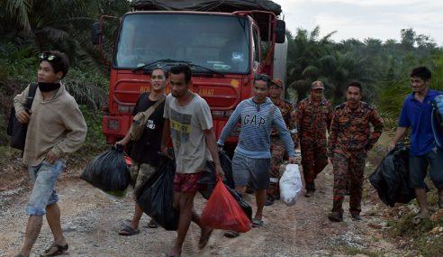 Pembalak Terperangkap 29 Jam Lega Diselamatkan Bomba