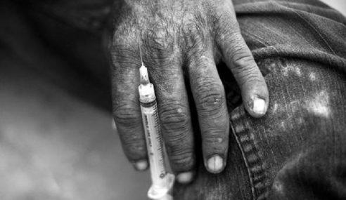 Penagih Tegar Dipenjara 6 Tahun, 2 Sebatan