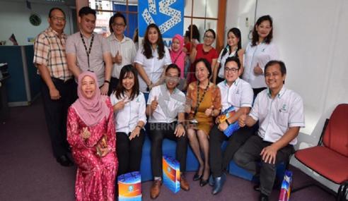 Petronas Tingkat Hubungan Dengan Bernama Sarawak Menerusi Liputan Berita