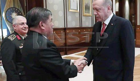 Mohamad Sabu Bertemu Presiden Turki