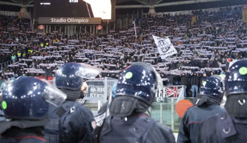 Itali Tahan Lima Penyokong Frankfurt Cetus Kekacauan