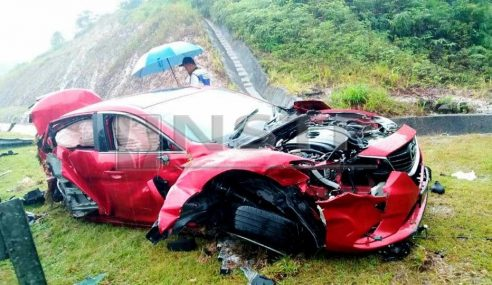 Anak, Menantu EXCO Terengganu Terbabit Kemalangan