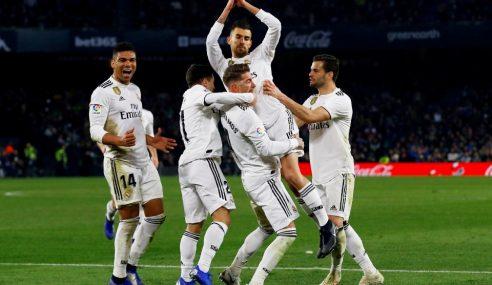 Ceballos Selamatkan Maruah Real Madrid
