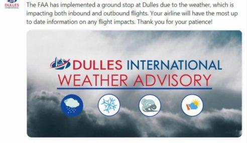 1,624 Penerbangan Dibatalkan, Ribut Salji Landa AS