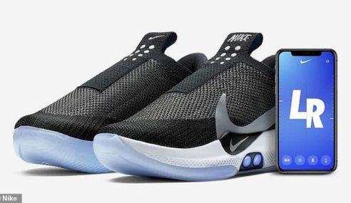 Nike Perkenal Kasut Sniker 'Back To The Future'