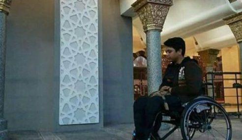 Dihalang Solat Dalam Masjid Sebab Berkerusi Roda