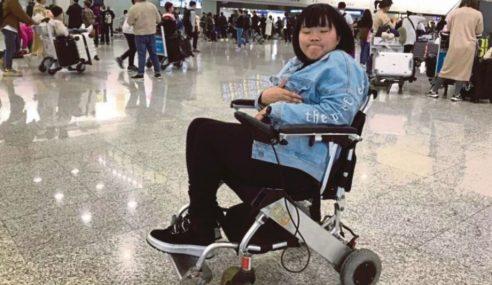 Wanita OKU Dilarang Naik Pesawat Di Hong Kong
