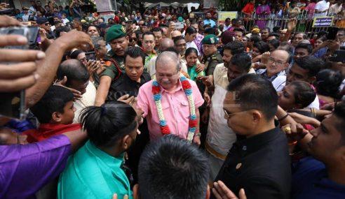 Sultan Johor Berkenan Ke Majlis Thaipusam