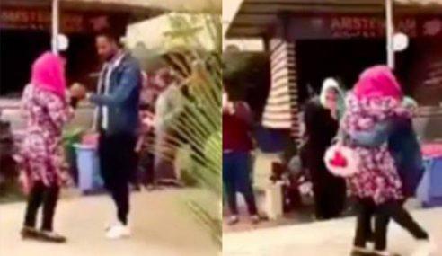 Pelajar Dibuang Al-Azhar Gara-Gara Peluk Bakal Suami