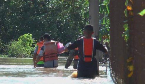 Lebih 2,500 Mangsa Banjir Di 5 Daerah Di Sabah