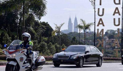 Pemilihan Agong: Raja-Raja Mula Tiba Di Istana Negara