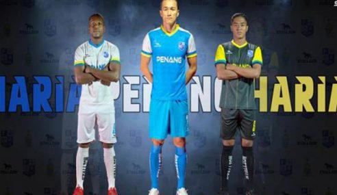 Jersi Baharu Skuad Bola Sepak Pulau Pinang 2019/2020