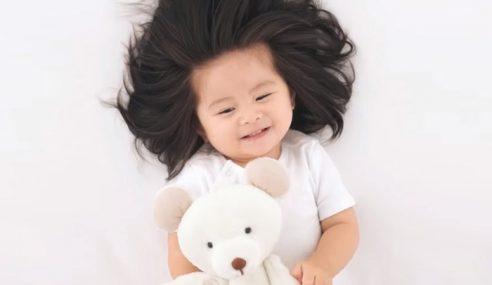 Bayi Rambut Lebat Wajah Baru Pantene