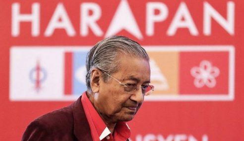PH Tak Pernah Beri Duit Untuk Raih Undi, Kata Mahathir