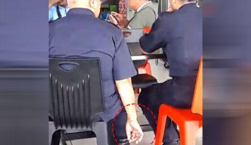 Polis Langgar Larangan Merokok Diambil Tindakan