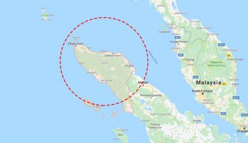 Gempa 5.7 Magnitud Gegar Barat Laut Aceh