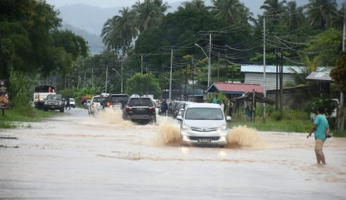 Jumlah Mangsa Banjir Di Kota Marudu Berkurang