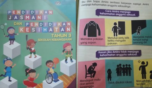 KPM Betulkan Infografik Buku Teks Pendidikan Jasmani