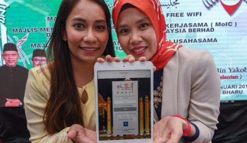 Kelantan Sedia Wifi Percuma Untuk Rakyat