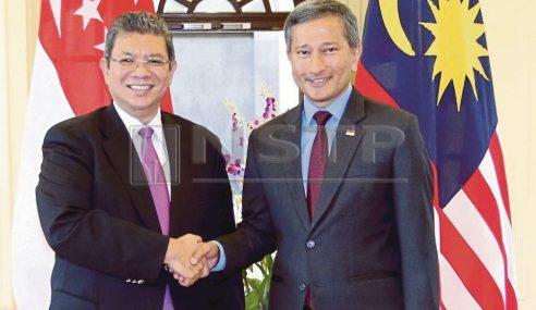 Malaysia-Singapura Setuju Gantung Pelaksanaan RA Dan ILS