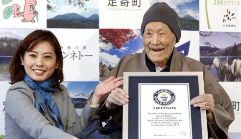 Lelaki Paling Tua Di Dunia Mati Usia 113 Tahun
