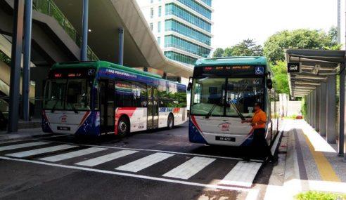 Bas Perantara MRT Laksana Penuh Sistem Tanpa Tunai
